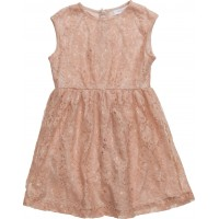 Blond Lace Dress