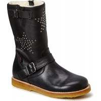 Leather Boot W. Star Tex