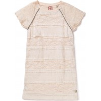 Jersey Dress With Embroidered Sleeves