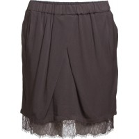 Skirt With Lace Hem