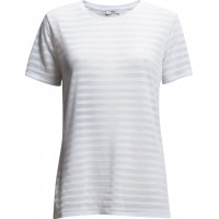 Anne-Sofie-Stripes Burnout T-Shirt