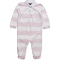 Rugby Baby Girl Coverall L/S