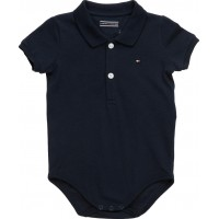 Baby Basic Polo Body S/S