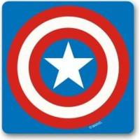 Marvel Captain America Sköld Drinkunderlägg 6-pack