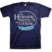 Breaking Bad Heisenberg Institute Of Cooking T-Shirt Marinblå