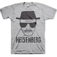 Breaking Bad Heisenberg Sketch T-Shirt Grå
