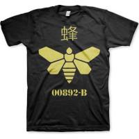 Breaking Bad Methlamine Barrel Bee T-Shirt Svart