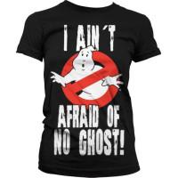 Ghostbusters I Ain´t Afraid T-Shirt Dam Svart