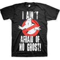 Ghostbusters I Ain´t Afraid T-Shirt Svart