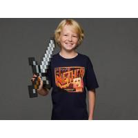 Minecraft Nether Postcard Barn T-shirt