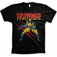 Wolverine Scratches T-Shirt Svart