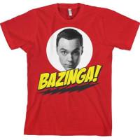 Big Bang Theory Sheldon Bazinga T-Shirt