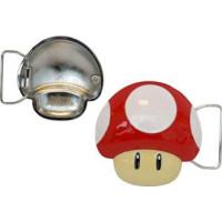 Nintendo Röd Svamp Bältesspänne