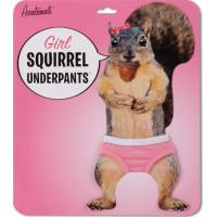Girl Squirrel Underpants