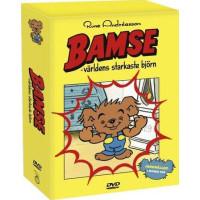 Bamse Box 2 - Världens Starkaste Björn (4-disc) DVD