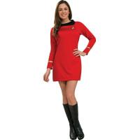 Star Trek Classic Deluxe Röd Klänning