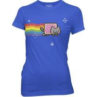 Nyan Cat Dam T-shirt