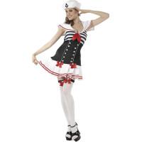 Sailor Girl Maskeraddräkt