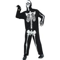 Skelett Maskeraddräkt Budget