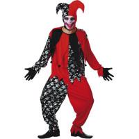 Ond Joker Maskeraddräkt