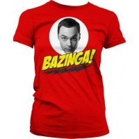 Big Bang Theory Sheldon Bazinga Dam T-Shirt
