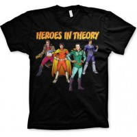 The Big Bang Theory - Heroes In Theory T-Shirt