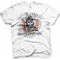 Sons Of Anarchy Distressed Flag T-Shirt