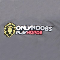 World Of Warcraft Only Noobs Play Horde T-Shirt