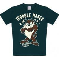 Looney Tunes Trouble Maker T-Shirt Barn Svart
