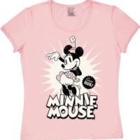 Disney Mimmi Mus Since 1928 Tjej T-Shirt Rosa