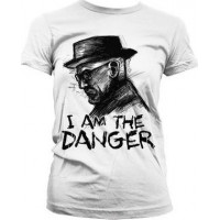 Breaking Bad I Am The Danger Dam T-Shirt