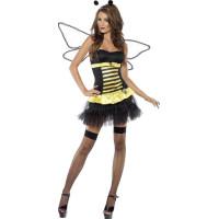 Sexig Vändbar Humla / Kvinnlig insektskostym