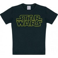 Star Wars Logo T-Shirt Barn Svart
