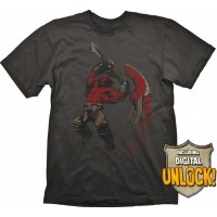 DOTA 2 T-Shirt Axe + Digital Unlock