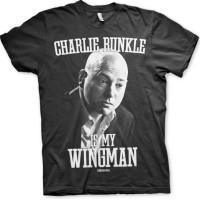 Charlie Runkle Is My Wingman T-Shirt (Svart)