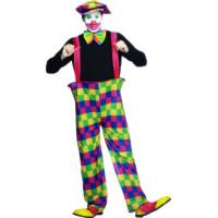 Clown Maskeraddräkt