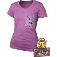 DOTA 2 T-Shirt Puck Girlie + Digital Unlock