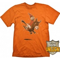 DOTA 2 T-Shirt Wizard & Donkey + Digital Unlock