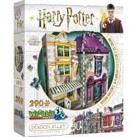 3D Pussel Harry Potter Madam Malkin's & Florean Fortescues Ice Cream