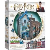 3D Pussel Harry Potter Ollivander's Wand Shop & Scribbulus