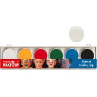 Ansiktsfärg Vattenbaserad - 6 färger