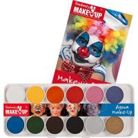 Ansiktsfärg Vattenbaserad - 12 färger