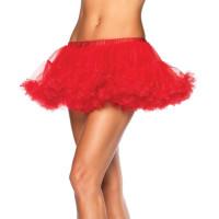 Ballerinakjol med Tyll Deluxe - Röd