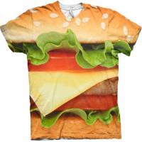Burger Allover T-shirt - Small