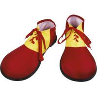 Clownskor Röd/Gula - One size