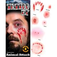 Animal Attack Tatuering FX
