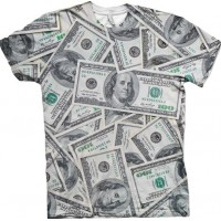 Dollars Allover T-shirt - Small
