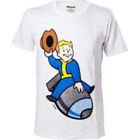 Fallout 4 Vault Boy Bomber Men T-shirt - Small