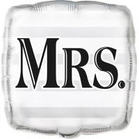 Folieballong Bröllop med MRS