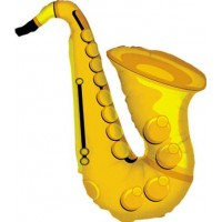 Folieballong Saxofon